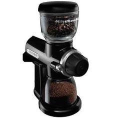 KitchenAid Pro Line Series Burr Coffee Mill, Onyx Black, $194.  I wonder if they sell this as an attachment to my KitchenAid.