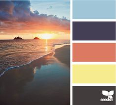 Another lovely palette from Design Seeds Colour Pallette, Color Palate, Colour Schemes, Color Patterns, Color Combos, Design Seeds, Logo Design, Sunset Colors, Colour Board