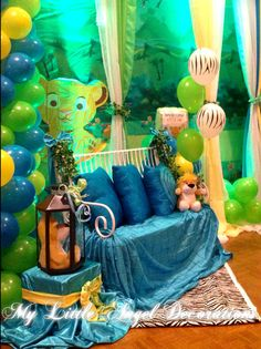King Of The Jungle Baby Shower Party Ideas