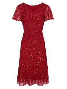 Objednej si heine Koktejlové šaty - červená na ABOUT YOU. ✓Dodání a vrácení  zboží bc3aba03419