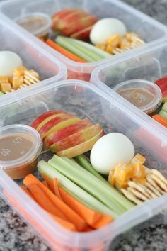 Meal prep is a huge part of my clean eating success. If its ready and  available I grab it , if its not I grab crap. Simple as that. One of my  favorite weekly meal prep staples is the Power Snack Box. Always in my  fridge for days when I have less than 15 minutes to get out the door.  Packed full of healthy snack choices, these boxes will keep you away from  the drive-thru. They're simple, nutritious, and satisfy cravings for both  sweet and salty. I rarely leave home without one.  Power…