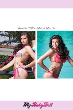 Amelie, Mix Match, Summer Collection, Bikinis, Swimwear, Fashion, Bathing Suits, Moda, Swimsuits