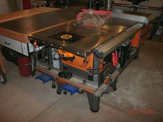 Table saw cabinet design the garage journal board shop tools table saw router table combo page 2 the garage journal board greentooth Images