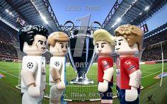 Champions League Final: Real Madrid vs Atletico Madrid. 20.45 in San Siro Milan. (By eddy sp)  #ucl #championsleague #uefachampionsleague #uefa #champions #final #realmadrid #atleticomadrid #colchoneros #soccer #football #uclfinal #liga #lego #minifigures #minifigure #minifigs #legominifigure #bricknetwork #brickcentral #legophotography #legostagram #instalego #milano #sansiro #toys #afol #custom #moc #nike by lego__sports