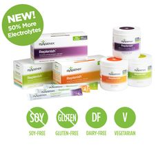 Replenish Electrolytes - no synthetics, no added artificial color, the best sport drink for the family. luciecharette.isagenix.com