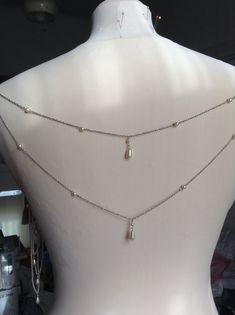 Pearl Necklace, Pearls, Chain, Jewelry, Fashion, String Of Pearls, Moda, Jewlery, Jewerly