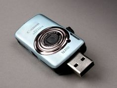 Canon Inspired Mini Camera USB Flash Drives.