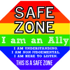 Yaaaas safe zone lgbtq ally safezone rights equality Gay Straight Alliance, Lgbt Ally, Lgbt Love, School Psychology, School Counselor, Transgender, Equality, Positivity, Teaching