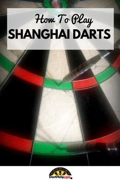 Shanghai Darts is an around the board based variant. To play, you must score points by hitting the target number for that round. You can win the game at any time by hitting a single, double and triple of the target number. Darts Rules, Darts Game, The Game Is Over, The Underdogs, Nail Biting, Player 1, Fun Games, Scores, Shanghai