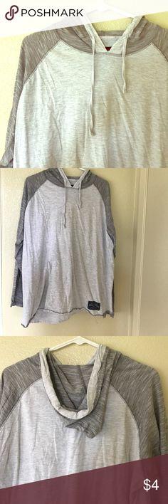 Hooded Baseball Tee Mens long sleeve hooded Baseball Tee, very comfortable!! Broken threads Shirts Tees - Long Sleeve