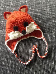 Mützen - Mütze Fuchs - ein Designerstück von Eli-Me bei DaWanda