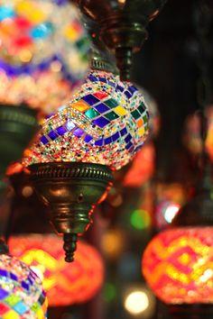 Lamps in the #Bazaar. #Istanbul, Turkey