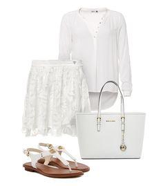 Dieses Outfit beweist, dass eintönige Kleidung nicht langweilig sein muss!