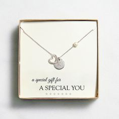 <3 #love #mom Open Heart Charm Necklace from Personal Creations on Catalog Spree, my personal digital mall.