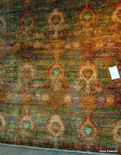 "Nourison Area Rug from the Sari Silks collection SARO6 MTC ""multi-color""."