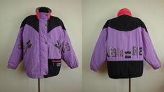 e744ff0bbe LUHTA Cirrostratus purple ski jacket Size Womens L XL Eur 42 Gb 16 Vintage  Nylon Polyamid Made in Finland Ski suit ski jacket