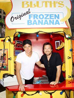 Jason Bateman and Will Arnett. There's always money in the banana stand.