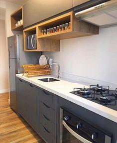 Home Decor Kitchen .Home Decor Kitchen Kitchen Room Design, Kitchen Cabinet Design, Modern Kitchen Design, Home Decor Kitchen, Interior Design Kitchen, Kitchen Furniture, Home Kitchens, Kitchen Ideas, Kitchen Modular