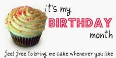 my birthday month - Google Search
