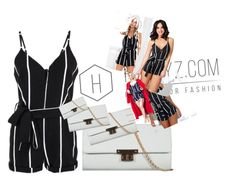"""""""NAUTIQUE PLAYSUIT"""" by honeyzuk on Polyvore featuring VIPCollection, HoneyzUK, DesignedByVicky and WeShipWorldWide"""