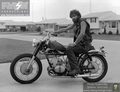 Portraits of American Bikers: Inside Looking Out - Riding Vintage