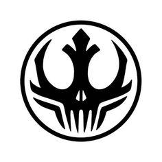 Star Wars Darkside Alliance Vinyl Decal Sticker BallzBeatz . com Laptop Decal Stickers, Star Wars Stickers, Bumper Stickers, Vinyl Decals, Car Decals, Funny Decals, Star Wars Silhouette, Design Inspiration, Skull Art