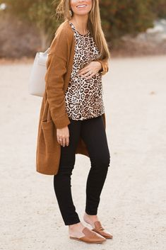 Leopard Sleeveless T