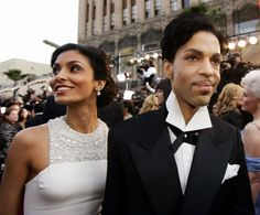 FILE - In this Feb. 27, 2005 file photo, singer Prince arrives with his wife Manuela Testolini for the 77th Academy Awards in Los Angeles. Prince, widely acclaimed as one of the most inventive and influential musicians of his era with hits including 'Little Red Corvette,' ''Let's Go Crazy' and 'When Doves Cry,' was found dead at his home on Thursday, April 21, 2016, in suburban Minneapolis, according to his publicist. He was 57.  (AP Photo/Kevork Djansezian, File) via @AOL_Lifestyle Read…