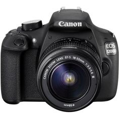 Canon EOS 1200D Digital SLR Camera with EF-S 18-55mm f: Amazon.co.uk:... ($465) ❤ liked on Polyvore featuring camera, accessories, electronics, fillers and random