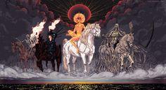 Apocalypse Comics   Source: the Four Horsemen of the Apocalypse by Korintic [deviantART]