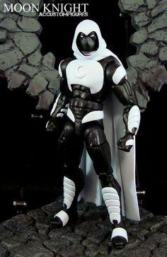 Moon Knight (Shalvey/Ellis Style) Custom Action Figure
