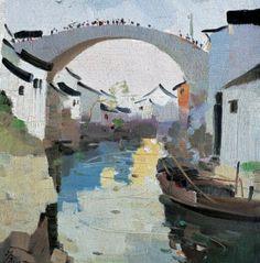 Wu Guanzhong 1986