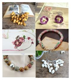 gentle jewelry by sandalfelt on Polyvore featuring мода and Blume