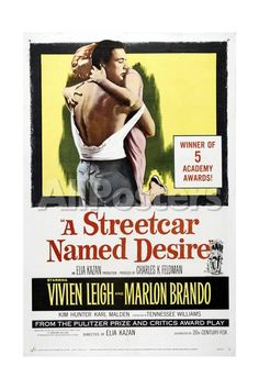 A Streetcar Named Desire, 1951, Directed by Elia Kazan Movies Giclee Print - 41 x 61 cm