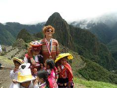 Famous faces at Machu Picchu!