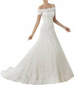 Gorgeous Bride Elegant Lang Spitze Tuell Satin Bandeau Prinzessin Brautkleider Hochzeitskleider Gorgeous Bride, http://www.amazon.de/dp/B00GV6LAQK/ref=cm_sw_r_pi_dp_m1Z-sb0RG31R2