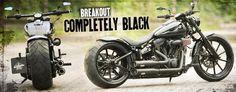 Thunderbike Breakout Completely Black   Harley-Davidson Breakout