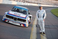 Brian Redman won the 1976 Daytona 24h in the #59 BMW 3.0 CSL