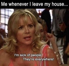 """75 Introvert Memes - """"Me whenever I leave my house.I'm sick of people."""" 75 Introvert Memes - """"Me whenever I leave my house.I'm sick of people. Funny Walmart Pictures, Funny People Pictures, Walmart Pics, Walmart Funny, Funny Babies, Funny Kids, Sick Of People, Avoid People, I Hate People"""