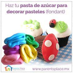 #JuevesderecetaParents'Place, aprende a hacer pasta de azúcar para decorar pasteles Parents, Tips, Youtube, Desserts, Ideas, Food, Sugar Paste, Fondant Cakes, Cooking