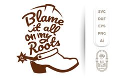 SVGs Cut Files compatible with Cricut, Silhouette, SCAL, Scan N Cut and all major design programs. Our SVG designs files can be used on adhesive vinyl, heat transfer and tshirt vinyl or any other cutting surface. Cowboy Boot Tattoo, Cowboy Boots, Big Design, Country Shirts, Gift Quotes, Christmas Svg, Vintage Christmas, Mandala Design, Svg Cuts