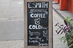 Coffee shop in downtown Seattle • #downtown #seattle #coffee #bigcity