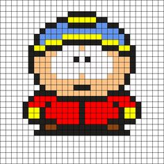 Eric South Park Perler Bead Pattern
