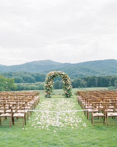 Ceremony arch by Mallory Joyce Design at Pippin Hill Farm, spring wedding, Cody Hunter Photography