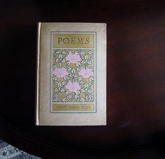 Poems By Mary Baker Eddy Founder Of Christian Science - 1910 Art Nouveau 1ST First Edition Poetry Book - Gift For Woman - Romantic Gift Idea - pinned by pin4etsy.com