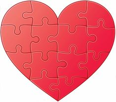 Printable Heart Graphics   Free Customized Printable Heart Puzzles