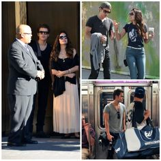 Paul Wesley and Torrey DeVitto in the Big Apple