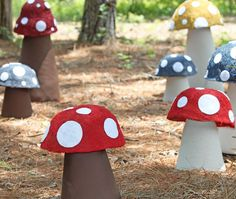 Fairy party mushroom grotto