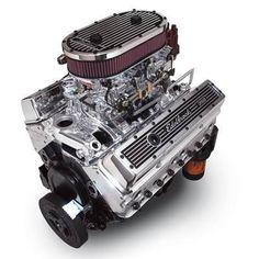 Edelbrock Performer Dual Quad 350 C. It's a brute. Motor Engine, Car Engine, Performance Engines, Performance Parts, Chevy Motors, Crate Engines, Car Repair, Car Stuff, Chevy Trucks