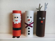 Kerst knutselen met wc-rol groep 3 Christmas Holidays, Christmas Crafts, Christmas Decorations, Elspeth Mclean, Diy And Crafts, Arts And Crafts, Pokemon, Creative Kids, Drawing For Kids